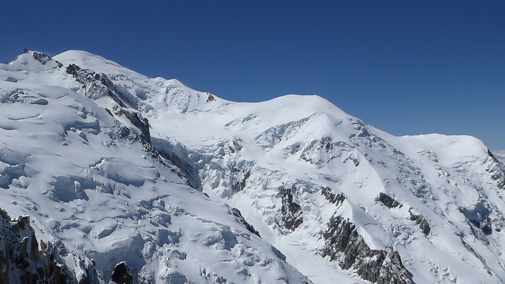 View from Plan de l'Aiguille