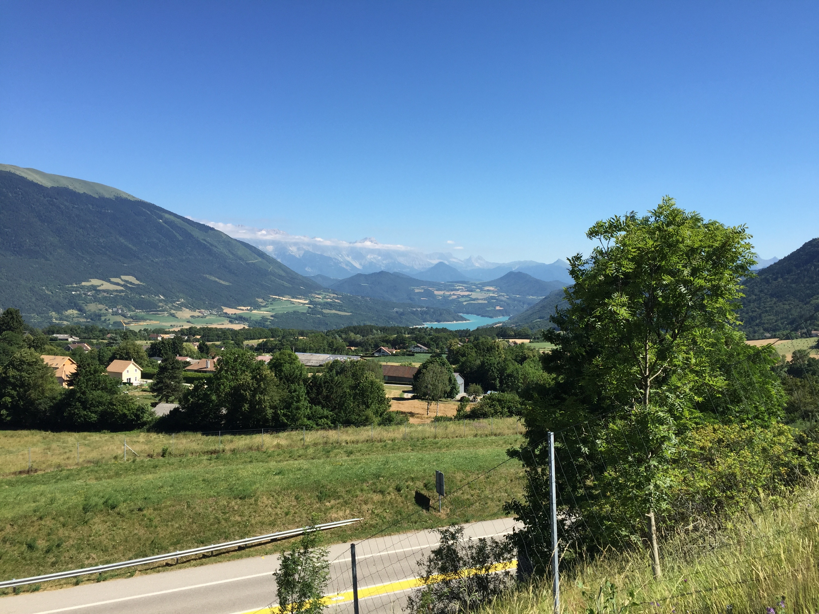 ca 100 km from Grenoble