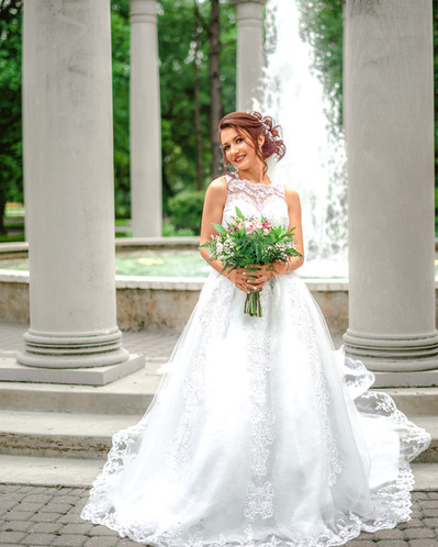 Houston Texas wedding Bridal portrait 4.
