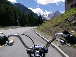 Road to Stelvio Pass