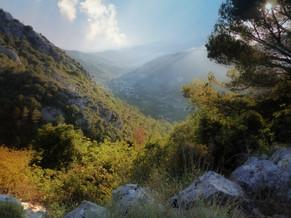 Day 4 - hiking to La Turbie