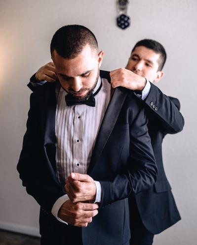 Houston Texas wedding groom portrait 5.j
