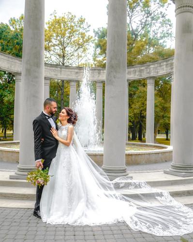 Houston Texas wedding Bridal portrait  2