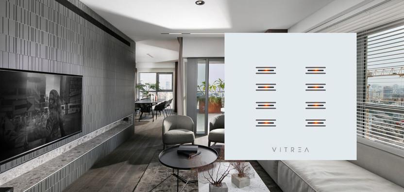 Vitrea - Sleek Light Switch