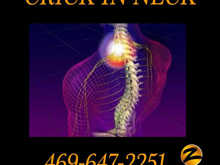 Now and Zen Bodyworks and Crick in Neck