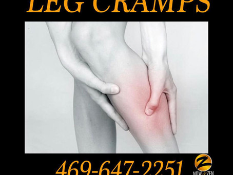 Now and Zen Bodyworks and Leg Cramps