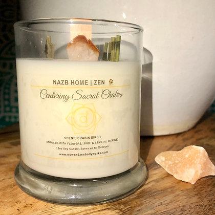 Centering Sacral Healing (Crystal Citrine)
