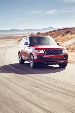 Desert Road - Land Rover