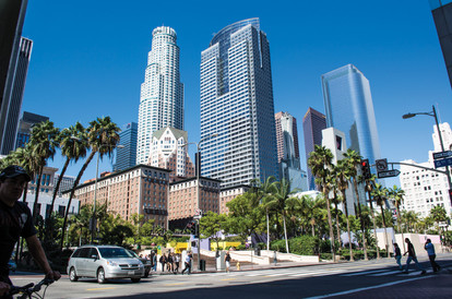 DTLA from Pershing Square