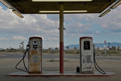 Gas Station - Four Aces Movie Ranch