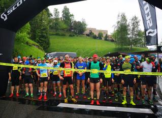 Val Del Riso Trail: Il timbro di Fabio Pasini e Maria Eugenia Rossi sulla prima edizione