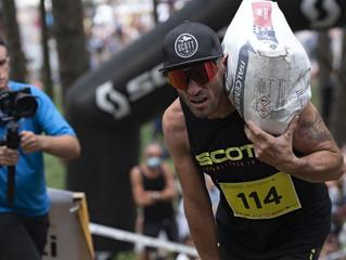 Festa alla Magut Race: la pazza corsa col cemento in spalla fa il pieno di concorrenti e divertiment