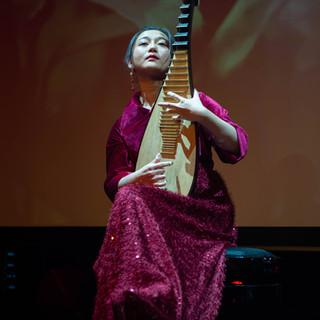 Lute Player, Chinese New Year in Casino Helsinki 2020