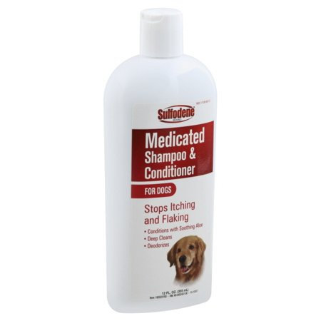 Sulfodene Medicated Shampoo & Conditioner, For Dogs - 12 fl oz