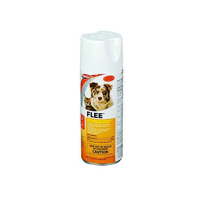 Martin's FLEE, Flea Aerosol, Fipronil Aerosol Spray for Dogs Cats Puppies 6.5 OZ