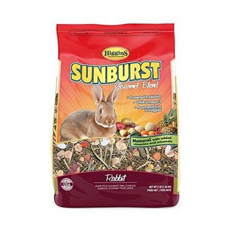 Higgins Sunburst Rabbit Small Animal Food, 3 Lb