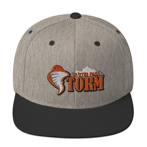 Storm Snapback Hat