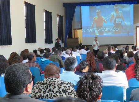 Conferencia - Escuela Nacional para Ciegos