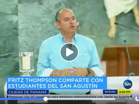 TVN - #FuerzaSabri conferencia en favor de Sabrina Murillo