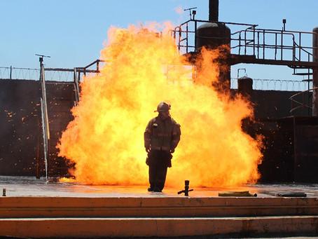 Combate de Incendios en Campo - Curso Protección Civil