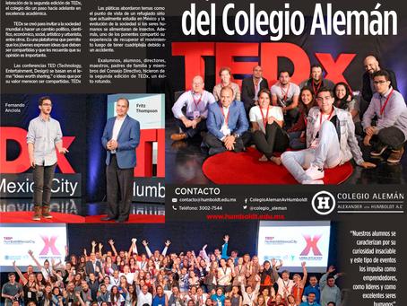 TEDx Humboldt Mexico City - Periódico Reforma