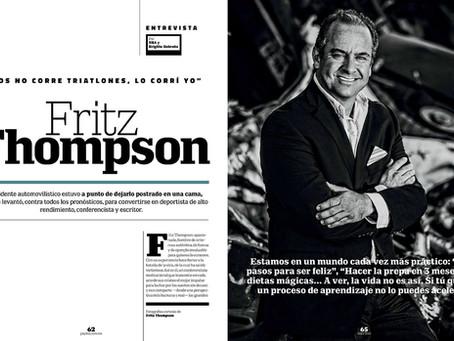 Fritz Thompson - Artículo en Revista Playboy México