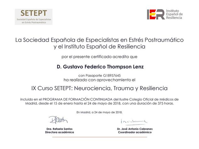 SETEPT - Resiliencia