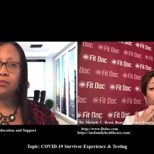 COVID-19 Survivor Experience & Testing