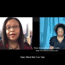 Black Hair Care Tips