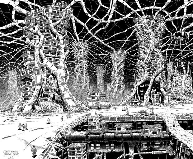 Design shot for 'The Resonator' (graphic novel).