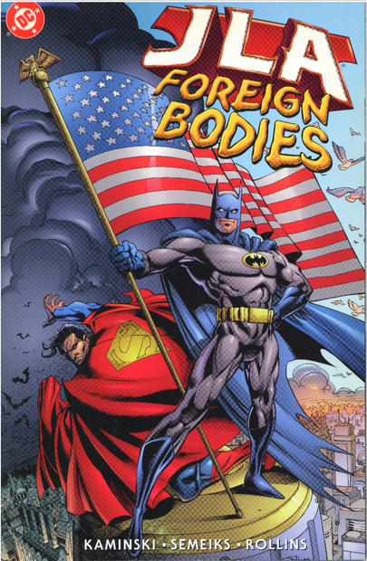JLA: Foreign Bodies cover