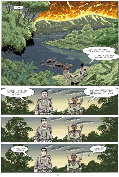 From 'Forgetting to Remember' (graphic novel in-production)