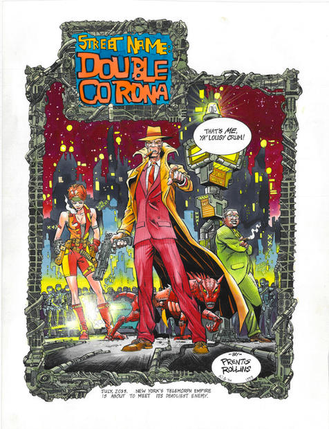 Street Name: Double Corona (comic from 'Smoke' Magazine)