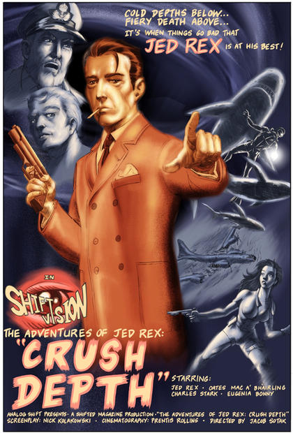 Jed Rex: Crush Depth (poster)