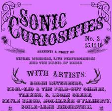 Sonic Curiosities No. 2 November 15, 2019