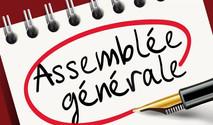 Assemblée Générale - mardi 12 octobre 2021