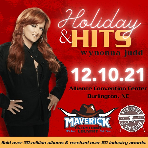 Holiday & Hits with Wynonna Judd