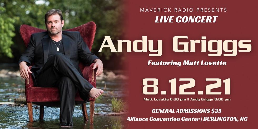 Andy Griggs Concert