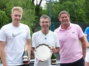 Savills retain IAS tennis trophy