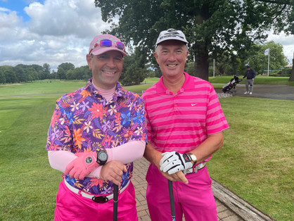 In the pink at The Belfry
