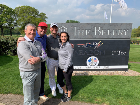 The Belfry plays hosts to inaugural Cubetek Applications golf day