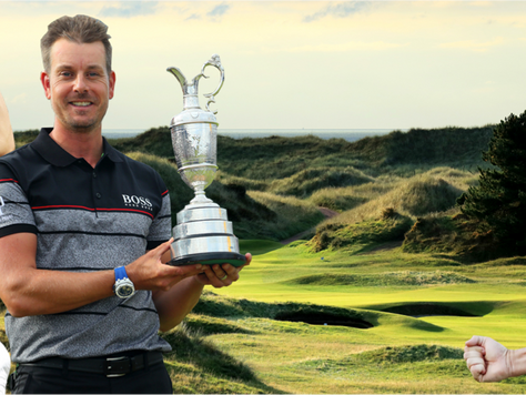 The Open Championship 2017 aboard the 'Great Briton'