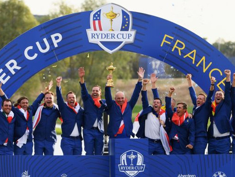 Ryder Cup Magic - what a week that was!