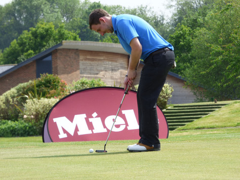 Sun shines bright on a high scoring Miele Golf day at Sandford Springs