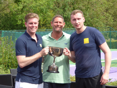 Savills put on a show to win IAS/OAS/SAS annual tennis event in style