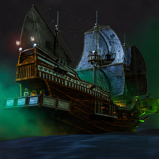 The Flying Dutchman Concept Art