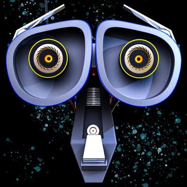 WALL-E Inspired Robot Concept Design