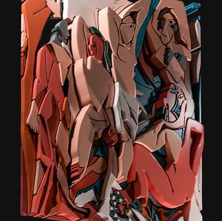Bringing Picasso's painting 'Les Demoiselles d'Avignon' to life