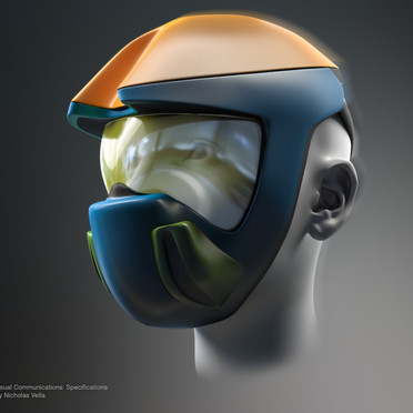 Concept Cyclist Mask