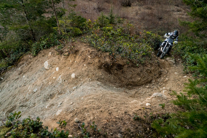 Technical trail riding